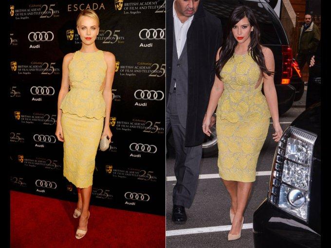 Charlize Theron o Kim Kardashian
