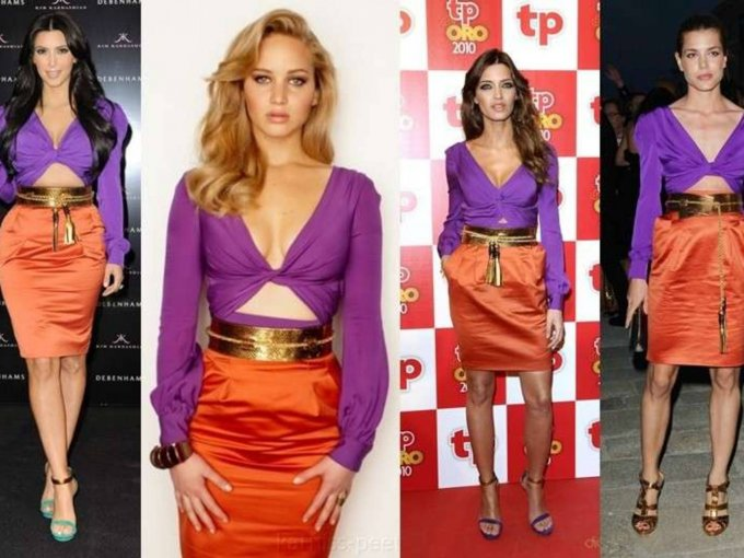 Kim Kardashian, Jennifer Lawrence, Sara Carbonero o Carlota Casiraghi