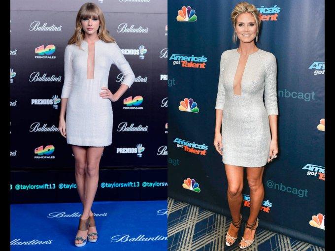 Taylor Swift o Heidi Klum