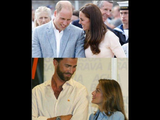 ¿Felipe y Letizia o William y Kate?