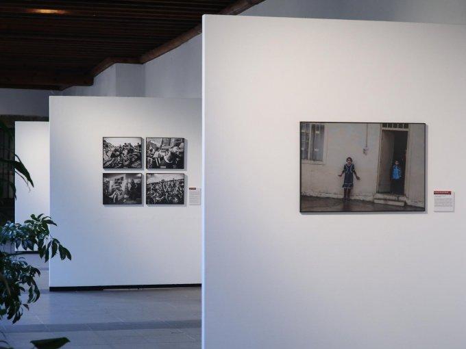 VISITA OBLIGADA. La exposición se encuentra en los dos pisos del patio principal del recinto