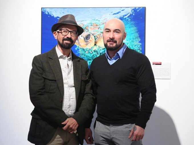 Óscar Román y Gerardo González