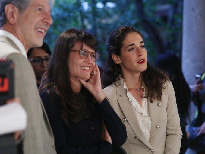 Héctor Rivero Borrel, Alexandra Haas y Babette Warendorf