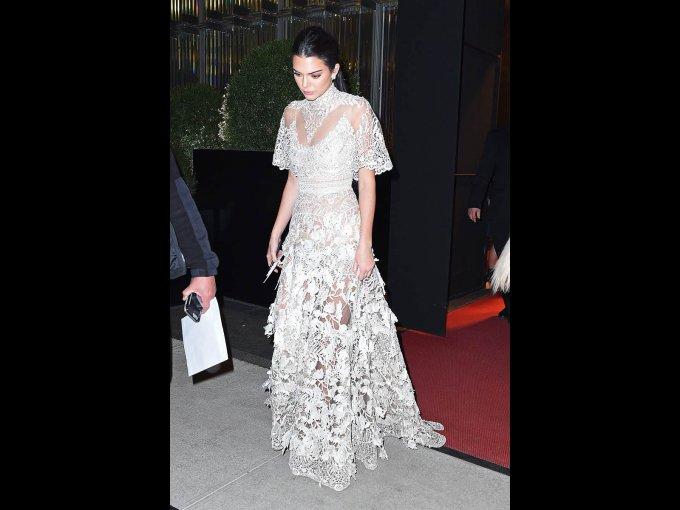 Kendall Jenner en Elie Saab, Nueva York