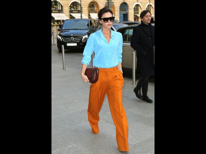 Victoria Beckham en Victoria Beckham, París