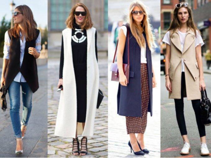 ¿Frío pero no tanto? hay una prenda perfecta... ¡Chalecos! aquí te dejamos algunas opciones de cómo puedes llevarlos a la oficina.