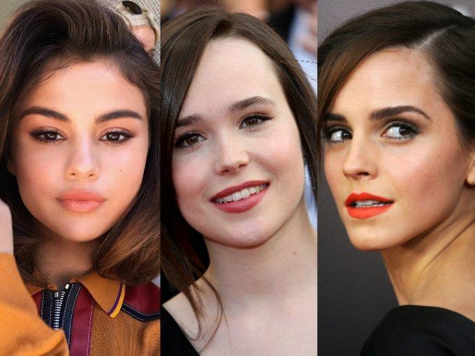 """Estas famosas tienen la conocida """"baby face"""", por más que pasen los años, ellas se seguirán viendo muy jóvenes."""
