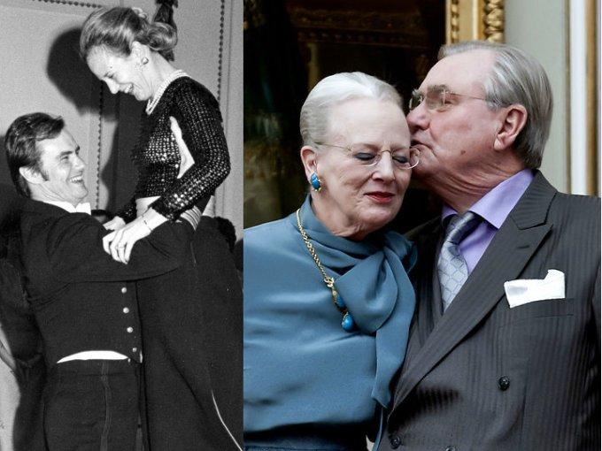 La Reina Margarita de Dinamarca y el príncipe Henrik siempre vivieron enamorados, una historia de amor que muchos quisiéramos tener. Aquí sus mejores fotos.