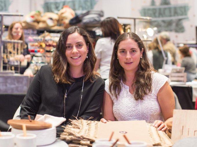 Mónica y Paola Campos se sumaron con Linaje, firma de productos de cocina