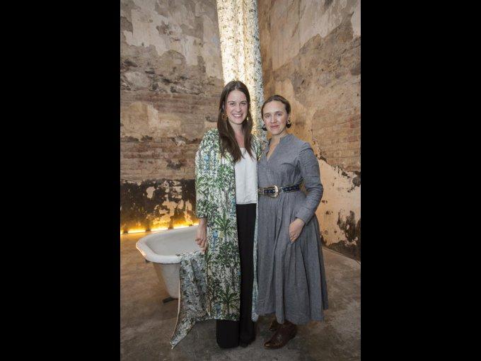 María Mayr y Danielle Lafaurie