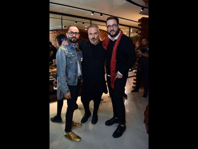 Daniel García, Nacho Cadena y Víctor Martínez