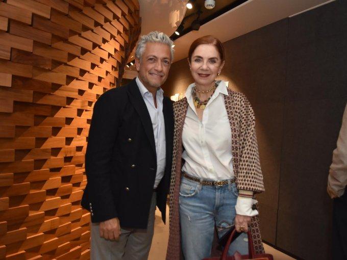 Arturo Velasco y Lisette Trepaud