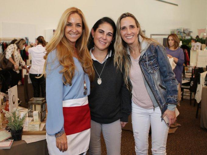 Mariana Rivas, Martha Cantú y Ana Paula Castillo