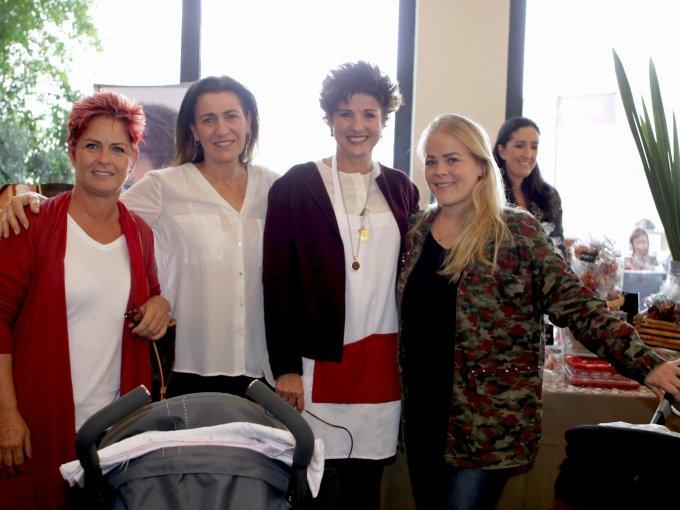 Verónica Artigas, Cynthia Sesín, Gaby Gutiérrez y Lucila Gaudiano