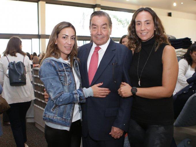 Mariana Somoza, Manuel Somoza y Ana Paola Somoza