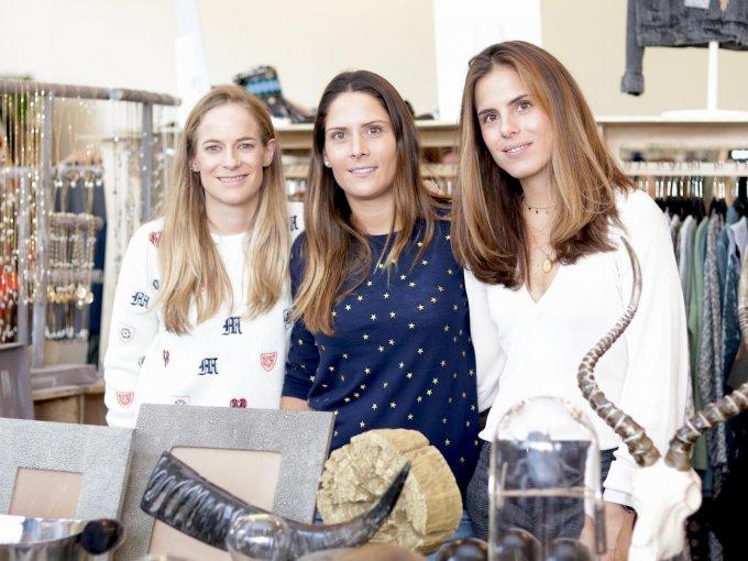 Lucía Rionda, Ana Paula Betanzos y Fernanda Martín