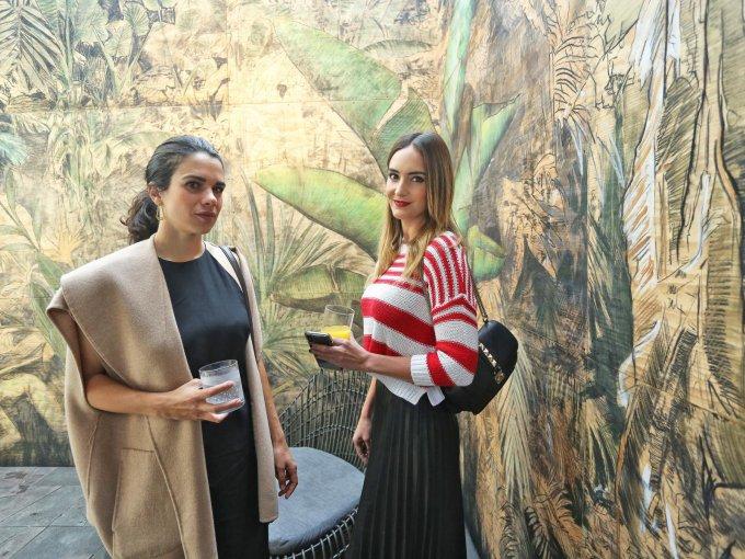 Regina Bueno y Mariana Arias