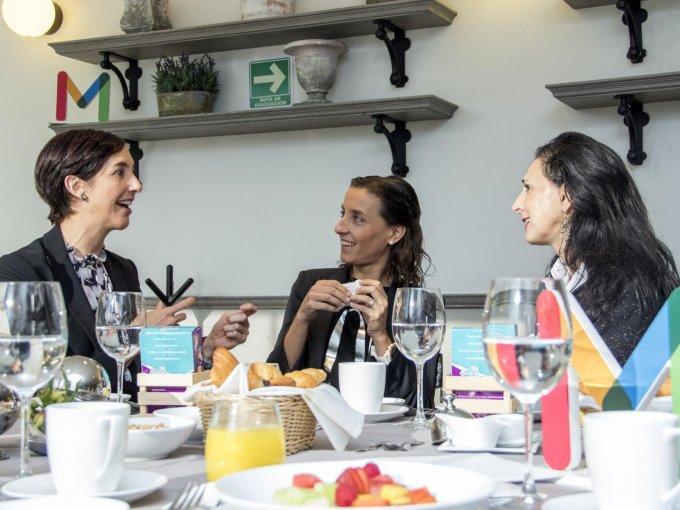 Andrea Castro y Federica Ruiz Maza