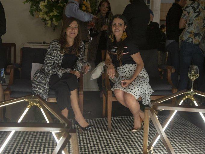 Clara George y Ana Mari de Gallego