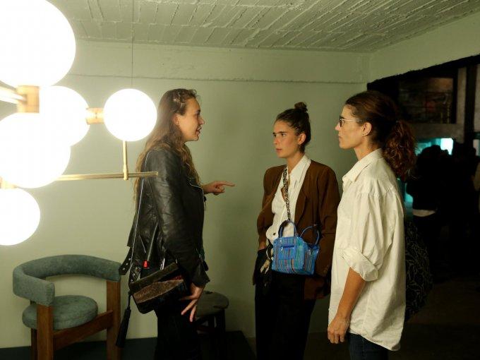 Carolina Favre, Lazlo Badet y Elodie Badet