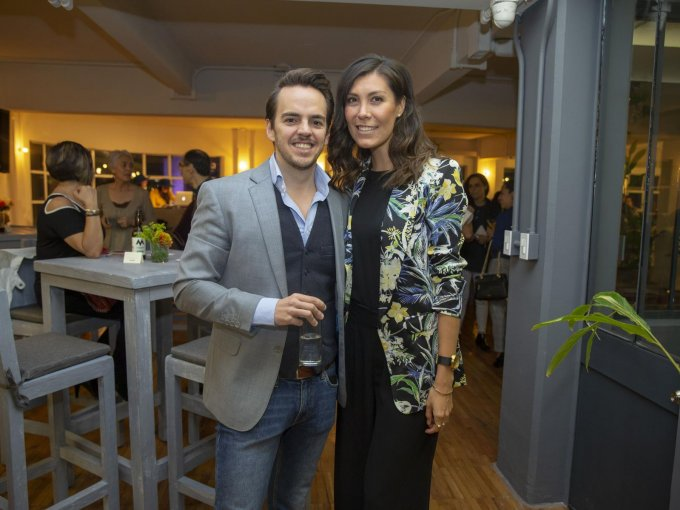 Lucas Bengoechea y Aline Cárdenas