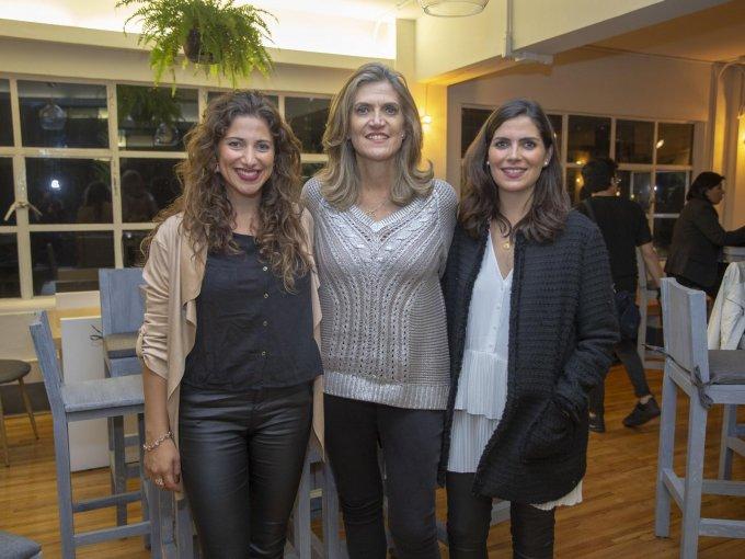 Paulina Mendieta, Loli Mendieta y Lorena Mendieta