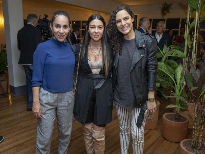 Bárbara Hagman, Liliana Olivares y Giuliana Rodarte