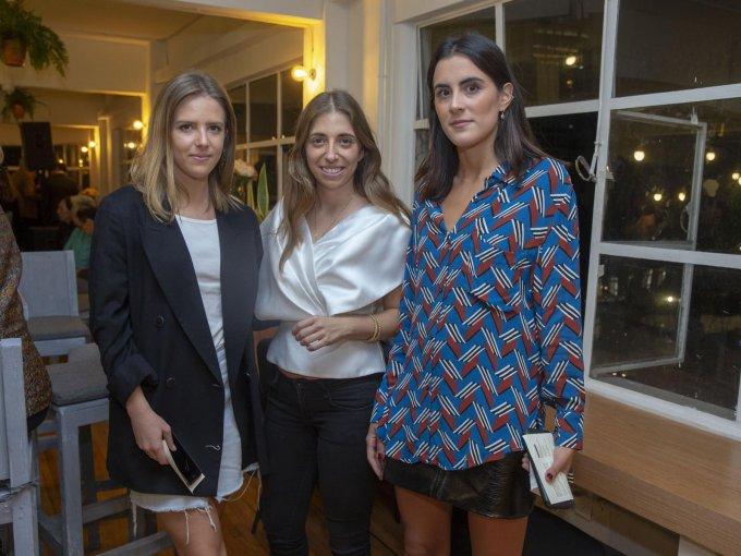 Deena Gerard, Silvia Hevia e Inés Rullán
