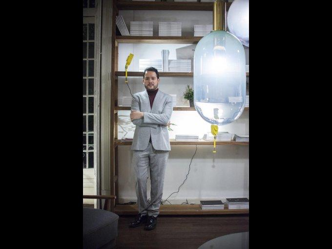 El diseñador Rodrigo Fernández, anfitrión de la noche