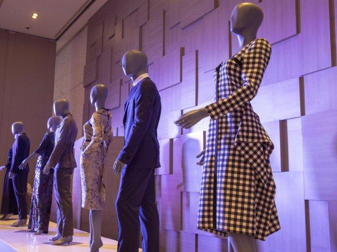 La colección The Look of Love estuvo expuesta en la presentación