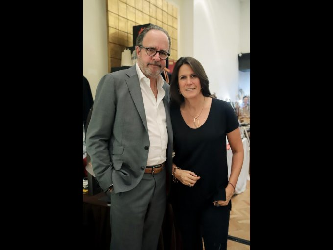 Luis  Peyrelongue y Jessica Peyrelongue
