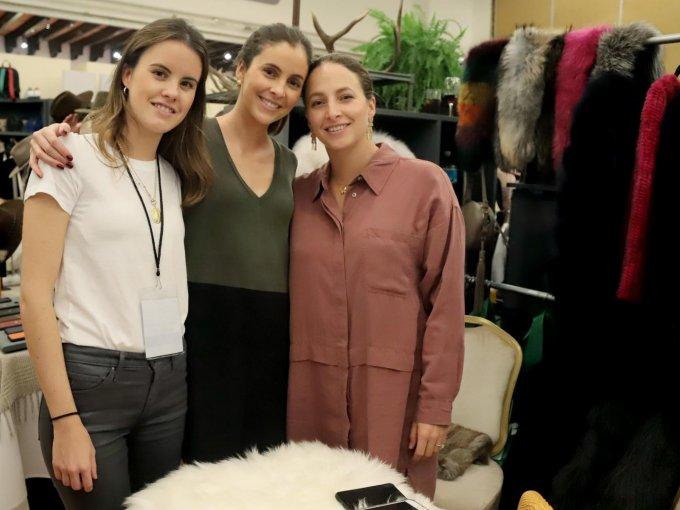 Daniela Girault con Gaby Nasta y Cecilia Nasta