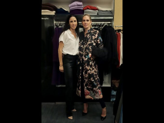 Paulina Lebrija y Mónica Sánchez Navarro