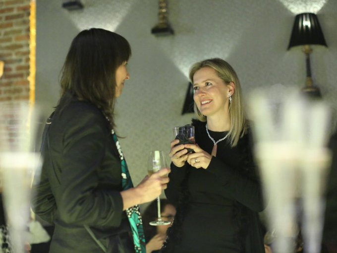 Nathalie Terrero y Lenka Cerna