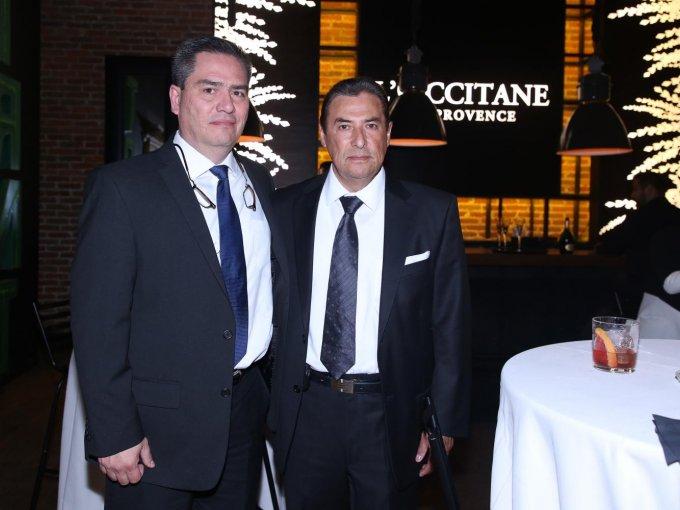 Ellery M. López, del Instituto Mexicano de Oftalmología, y Joel Rojas, de Fundación CEMAO
