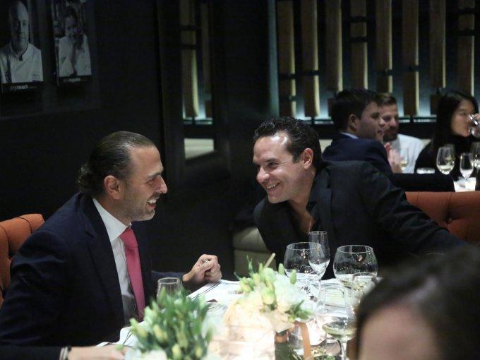 Jerónimo de Yturbe y Xavier Ocampo