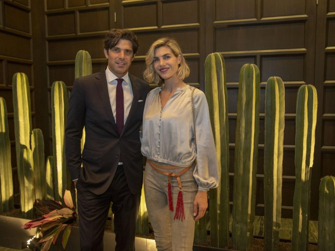 Nacho Figueras con Delfina Blaquier