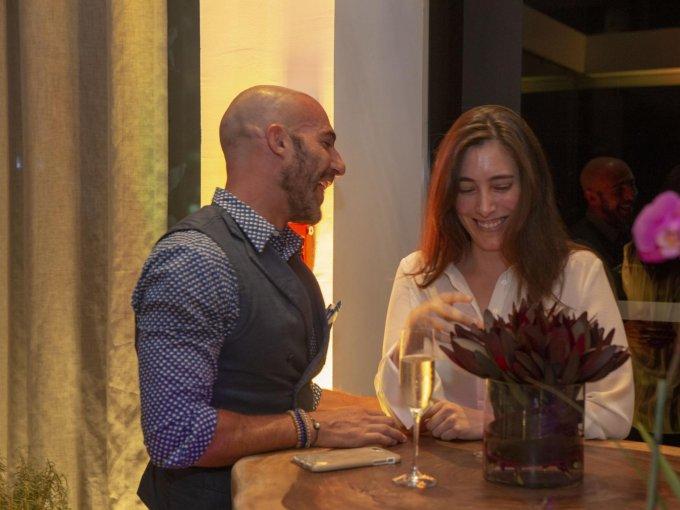 Carlos Huber y Mónika Revilla