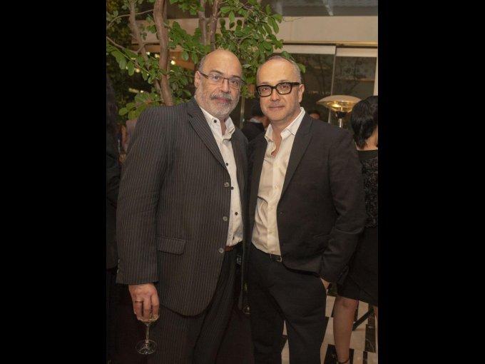 Ariel Crespo y Juan Carlos Arciniegas