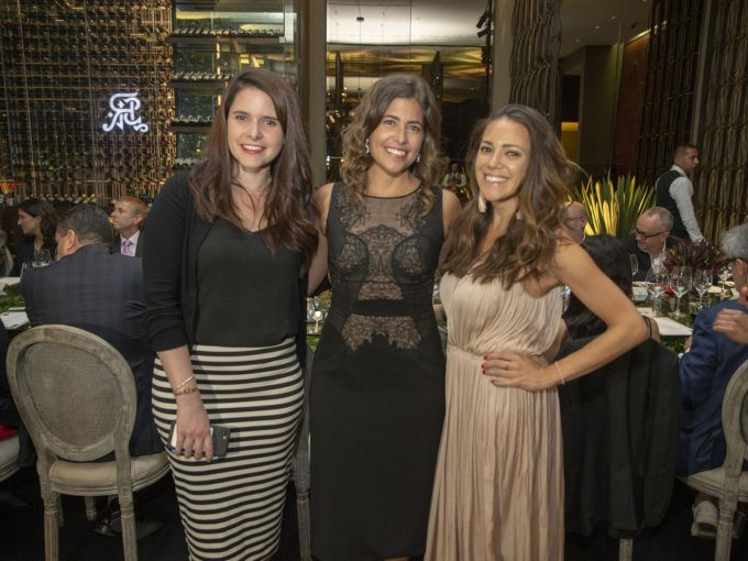 Melissa Aladro, Paulina Feltrin y Kaitlyn Ferrara