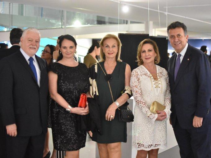 Jorge Contreras, Fiona Roche, Guadalupe Artigas de Ramos Cárdenas, Nelly Jiménez y Carlos García de Alba