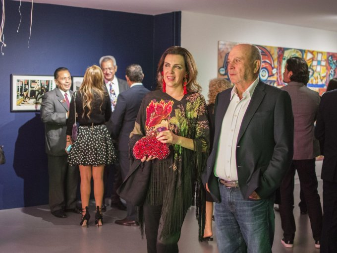 Pablo Hernández con Claudia Marcucetti
