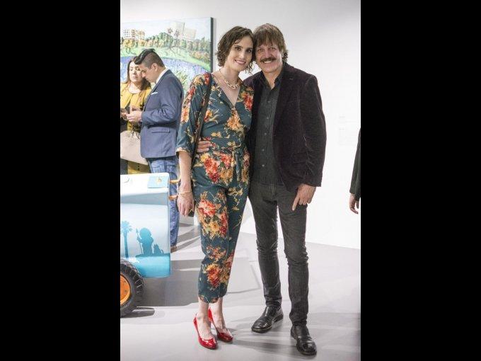 Adriana Mojica y Xavier Velasco