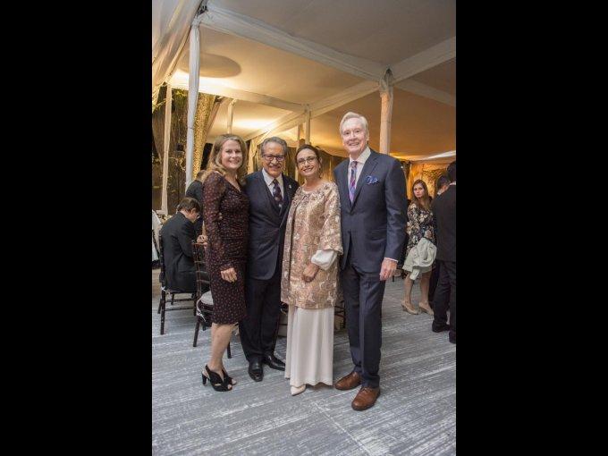 Judith Kieffer, Cástulo de la Rocha, Zoila Escobar y George Kieffer