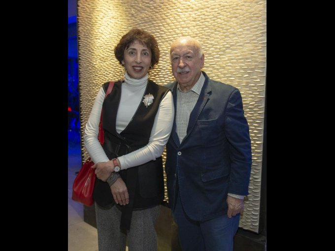 Patricia Agraz y Bruno Newman