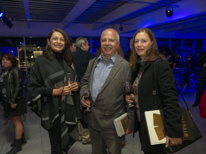 Alejandra Gilling, Ernesto Betancourt y Carla Galimberti