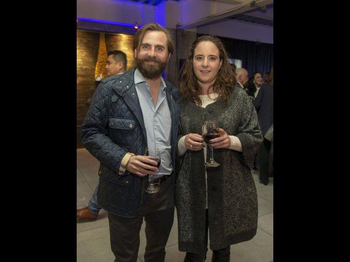 Carlos Campillo y Mónica Casar