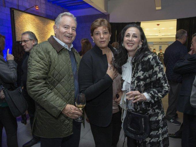 Alejandro Rivera, Sofía García Granados y Lucero González