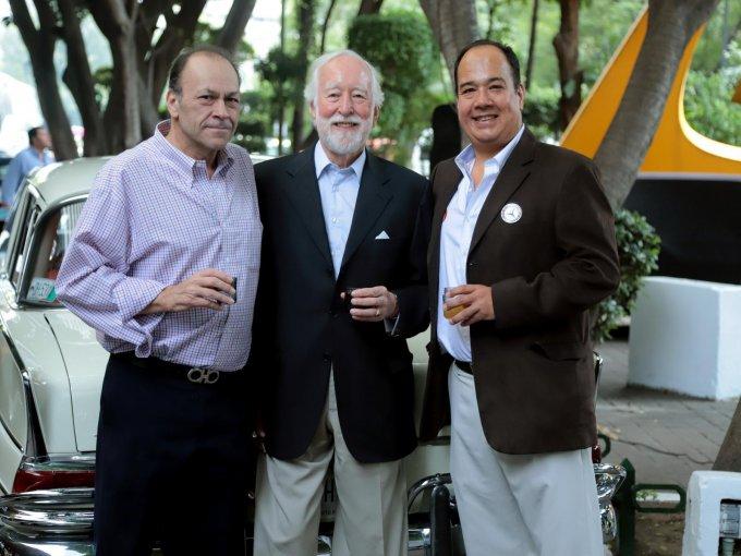 José Campillo, Rodrigo Amerlinck y Daniel Velázquez