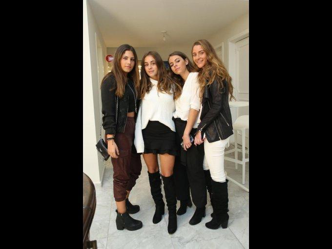 Isabel Haddad, Jimena Cerviño, Renata Arce y Nicole Kuri